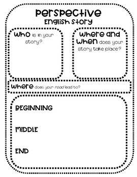 Perspective Writing - Graphic Organizer