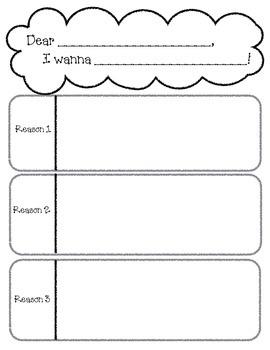 Persuasive Writing Graphic Organizer - I Wanna Iguana