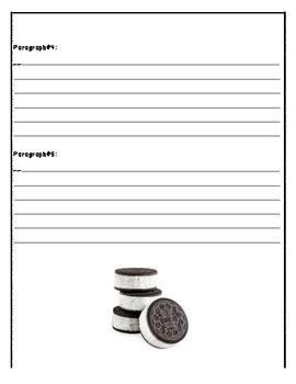 Persuasive Writing Graphic Organizer-  The OREO Method!