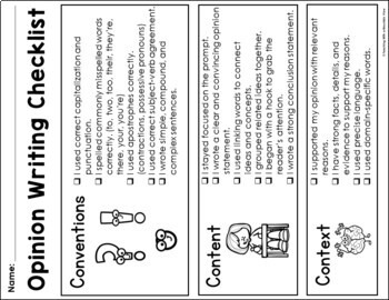 Persuasive Writing Graphic Organizer , Writing Sample , and Task Cards