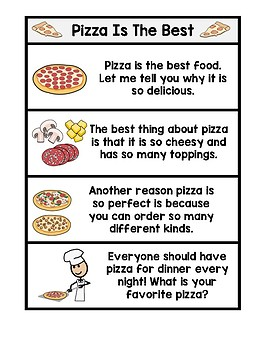 Persuasive Writing Graphic Organizer and Adapted Cut & Paste