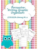 Persuasive Writing Graphic Organizers Pack