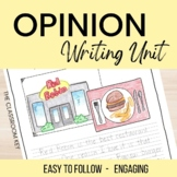 Opinion Writing Unit for 2nd or 3rd Grade