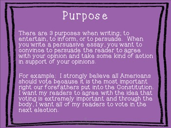 Persuasive Writing Guide with a Counterclaim