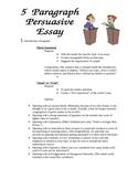Persuasive Writing Handout