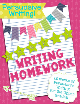 Persuasive Writing Homework