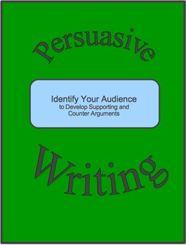 Persuasive Writing-Identify Audience to Develop Supporting and Counter Arguments