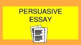 Persuasive Writing Interactive Lesson