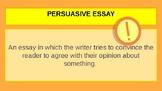 Persuasive Writing Interactive Powerpoint