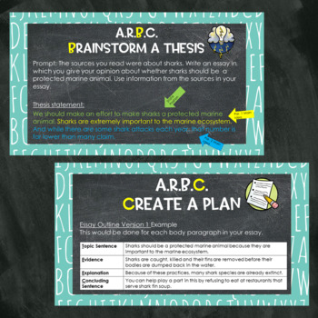 Opinion Writing Introduction: Planning
