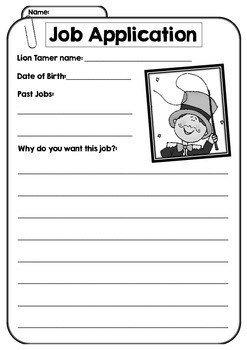 FUN Job Application Reading and Persuasive Writing - Fun Real World Skills