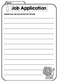 Application writing skills