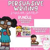 Persuasive Writing Junior Years BUNDLE