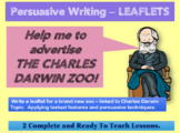 Persuasive Writing - LEAFLETS 2 COMPLETE LESSONS