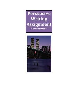 Persuasive Writing Lesson