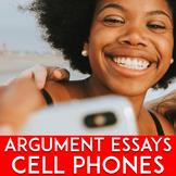 Argumentative Essay Topics | Essay Writing: Cellphones Pros and Cons | CCSC