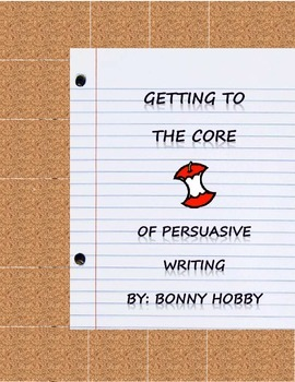 Persuasive Writing Lesson for First Grade