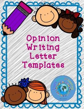 Persuasive Writing Letter Template Sentence Starter Editable