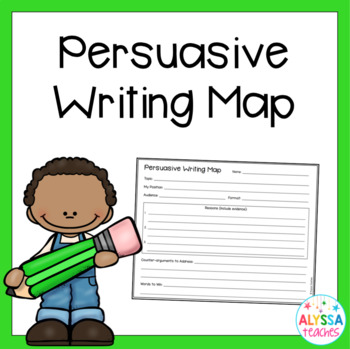 Persuasive Writing Graphic Organizer