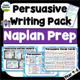 Persuasive Writing | NAPLAN Prep | Year 4, 5 & 6