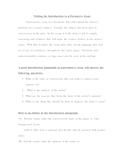 Persuasive Writing Notes/Format