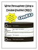 Persuasive Writing Oreo Organizer
