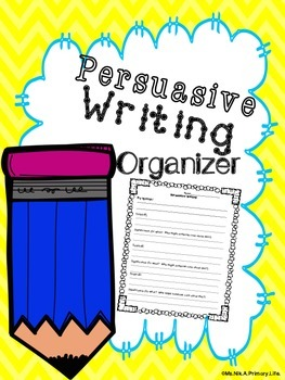 Persuasive Writing Organizer