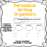 Persuasive (Opinion) Writing Organizers