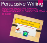 Persuasive Writing - PPT 19 Slides
