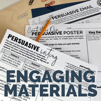 Persuasive Writing: Lesson Plan Pack