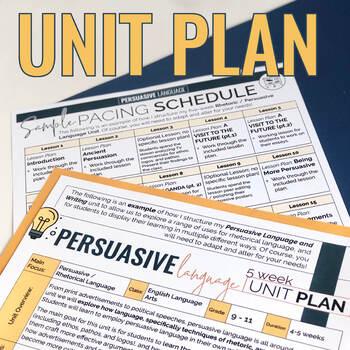 Persuasive Writing: Lesson Plan Pack