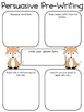 Persuasive Writing Pack: What does the fox say, in your opinion?