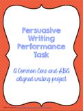 Persuasive Writing Performance Task (SBAC Practice Test)