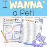 Persuasive Writing Pets