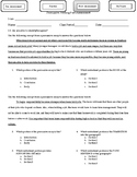 Persuasive Writing Post Assessment- Organization and Ideas
