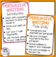 Persuasive Writing Posters - Classroom Decoration