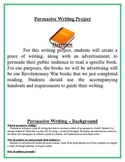 Persuasive Writing Project - Book Advertisement & Essay - Common Core Aligned