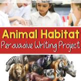 Persuasive Writing Project: Zoo Animal Habitats and Enclosures