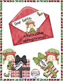 Persuasive Writing Prompt - Dear Santa