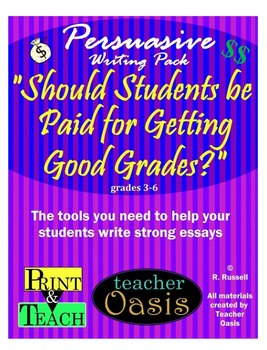 persuasive writing prompt should students be paid for getting persuasive writing prompt should students be paid for getting good grades