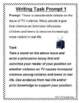 Essay Writing Prompt and Rubric - Persuasive Writing