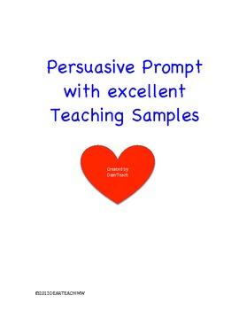 """""""Teacher Tools"""" for Persuasive Writing"""
