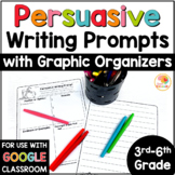 Persuasive Writing Graphic Organizers and Prompts