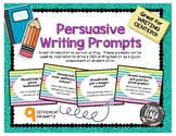 Persuasive Opinion Writing Prompts - CER Writing - Writing Centers
