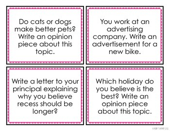writing prompt persuasive Qt daily opinion writing prompts for journaling--pull out one each day find this pin and more on opinion paragraph by debbie valdez debate or writing folder topics persuasive/opinion prompts that kids can actually r.