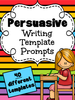 Persuasive Writing Prompts - Printable Worksheet Templates