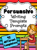 Persuasive Writing Prompts - Printable Worksheet Templates