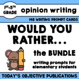 Persuasive Writing Prompts Would You Rather BUNDLE