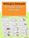 Persuasive Writing Prompts for Beginning Writers