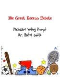 Persuasive Writing: Recess Debate